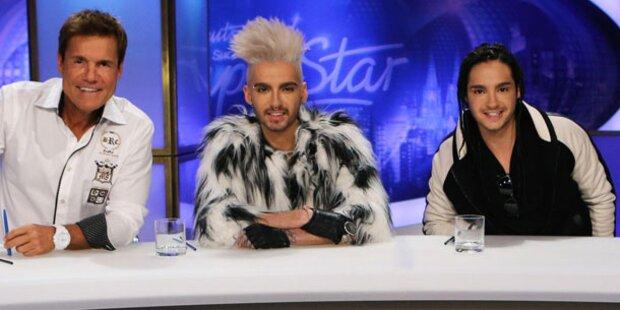 Kaulitz-Zwillinge kämpfen gegen Bohlen