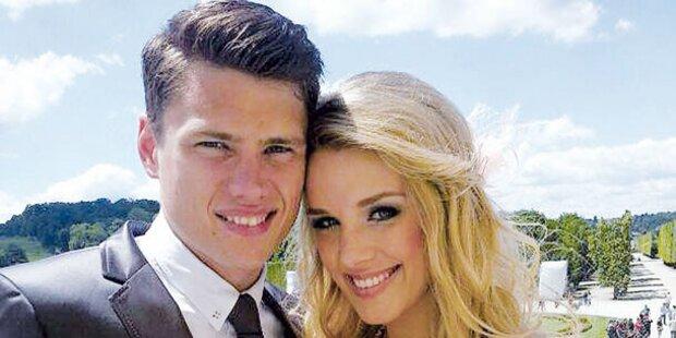 Die Traumhochzeit der Ex-Miss Austria