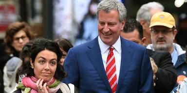 New Yorks Bürgermeister tritt gegen Trump an