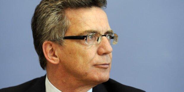 Pkw von deutschem Innenminister geknackt