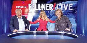 Fellner LIVE: SImone und Charly Brunner