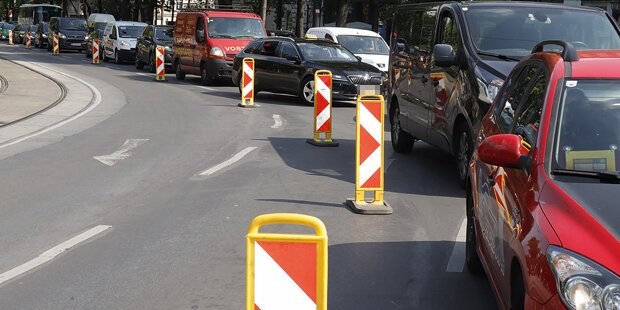 Bauarbeiten sorgen für Stau-Chaos in der Osterwoche