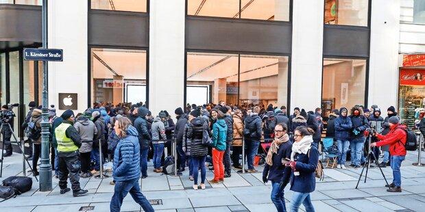 Apple-Store: Tausende feiern Eröffnung