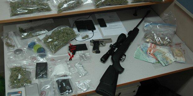Polizei fasst Groß-Dealer in Graz