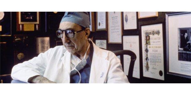 Legendärer US-Herzchirug DeBakey gestorben