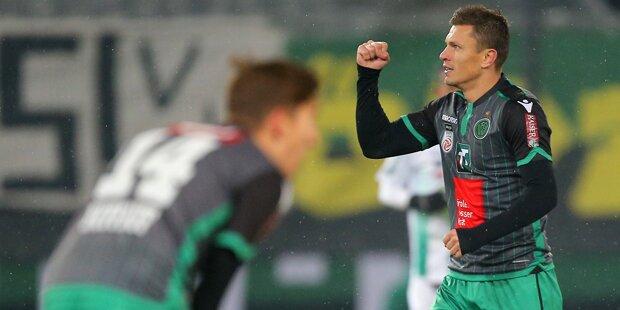 Wacker dreht Spiel gegen Lustenau