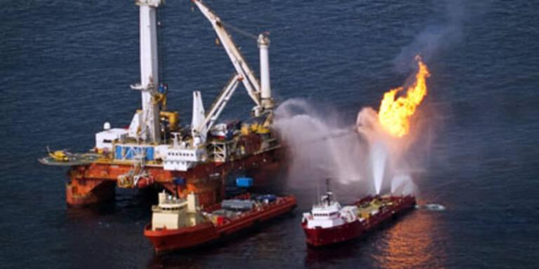 BP bohrt wieder im Golf vom Mexiko