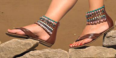 Schicke Treter: Sandalen und Co.