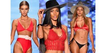 Wir sehen rot!: Die Bikinitrends des Jahres