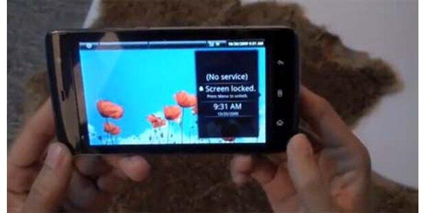 Dell-Smartphone mit riesigem Touchscreen