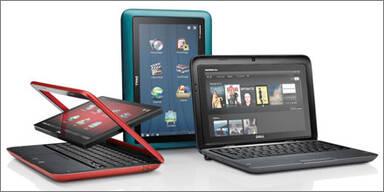 Dell bringt einen Netbook-Tablet-Hybrid