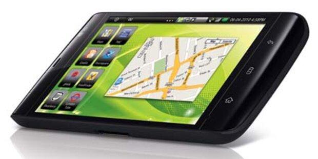 Android Smartphone mit Riesen-Display
