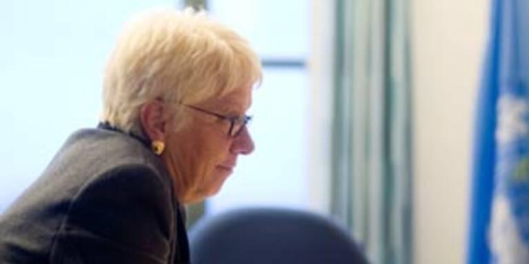 Chefanklägerin Carla del Ponte tritt zurück