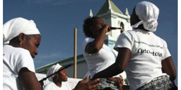 Kreolische Rhythmen aus Kap Verde