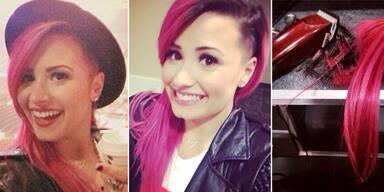Demi Lovato überrascht mit Undercut