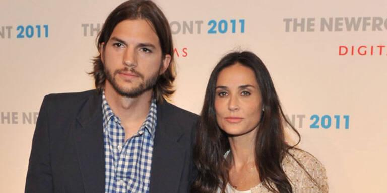 Demi & Ashton: Einigung bei Scheidung!