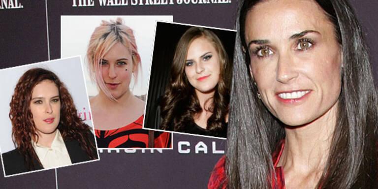Demi Moore: Ihre Töchter sind besorgt