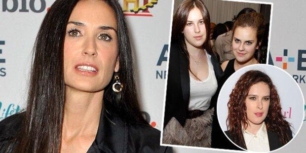 Demi & Töchter: Verstritten wegen Kutcher
