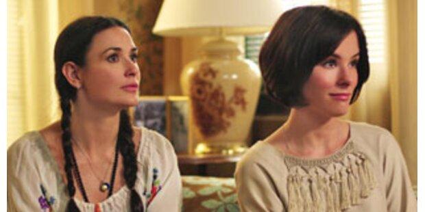 "Familiendrama: Demi Moore in ""Happy Tears"
