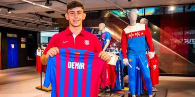 Yususf Demir beim FC Barcelona