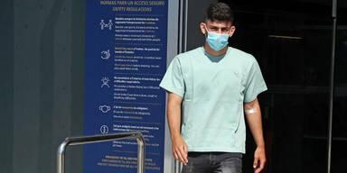 Yusuf Demir beim Medizincheck in Barcelona