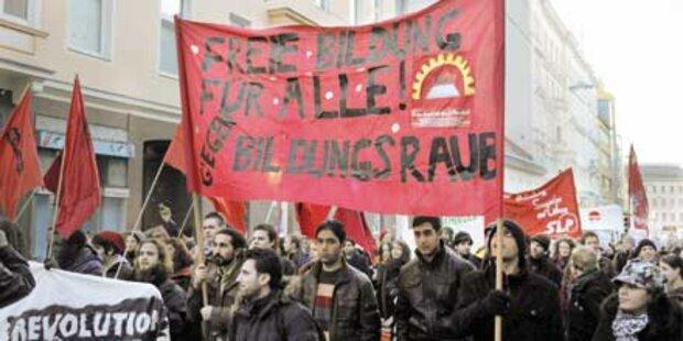 "15.000 Studenten stören ""Bologna-Gipfel"