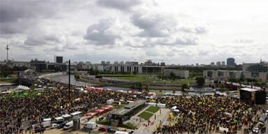 Massenprotest gegen deutsche Atompolitik