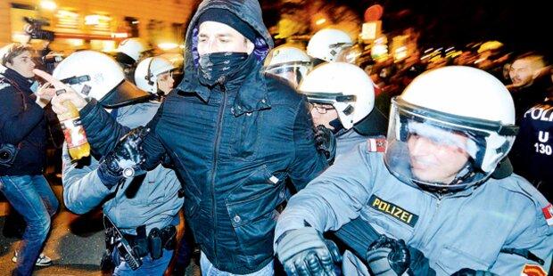 Linken-Demo: City-Kaufleute in großer Sorge