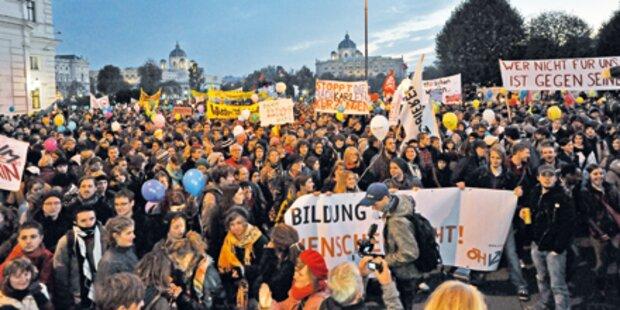 Tausende bei Demo gegen Kürzungen