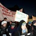 Demo gegen Burschenschafter-Ball