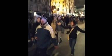 Keine Masken! Wirbel um illegale Corona-Demo in Wien