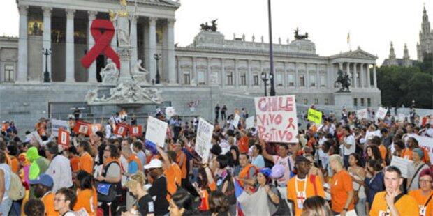 Tausende bei Menschenrechts-Demo in Wien