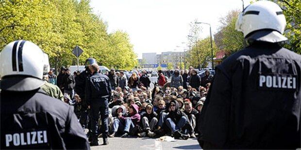 Demos gegen Neonazi-Aufmärsche