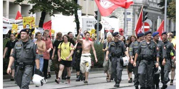 6.500 Wiener gegen G-20-Gipfel