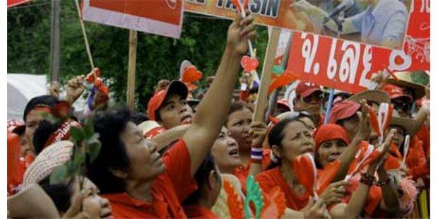 Massenproteste gegen die Regierung