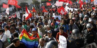 Radiosender in Peru geschlossen
