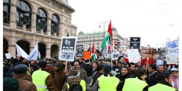 Pro- und Anti-Israel-Demos in Wien