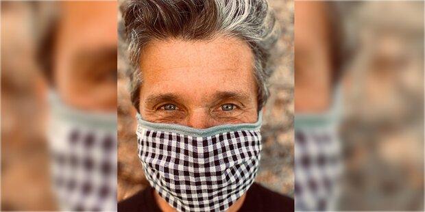 'Greys Anatomie'-Star Dempsey wirbt für Maske