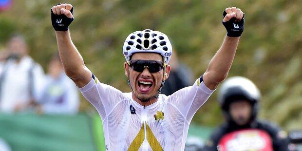Sensation: Denifl gwinnt 17. Vuelta-Etappe
