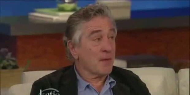 Robert De Niro: Tränen in Talkshow