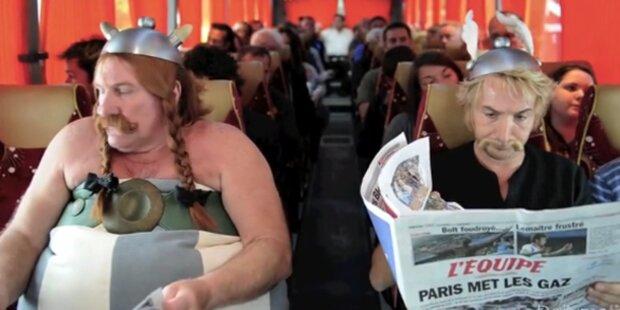 Depardieu nimmt Pinkel-Panne mit Humor