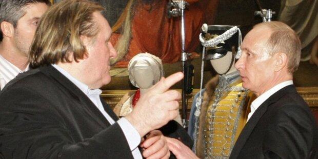 Depardieu zu Privatbesuch in Russland