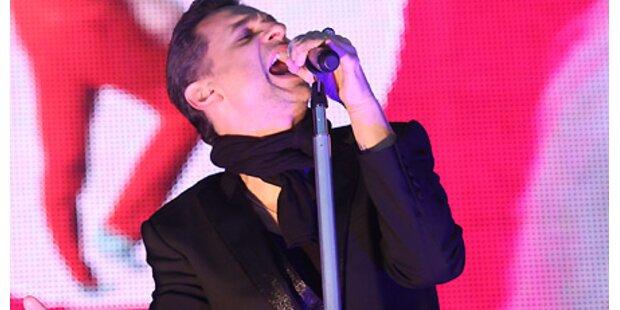 Depeche Mode: Nach OP wieder fit!