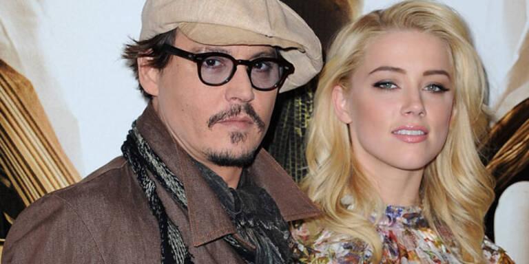 Depp: Er sagte Heard, dass er sie liebt