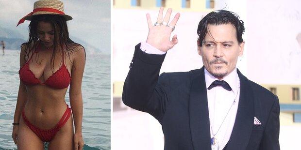 Johnny Depp: Heiratet er bald Gogo-Girl?