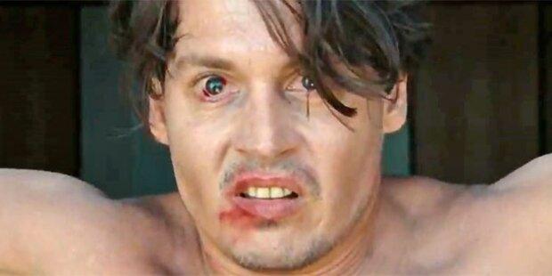 Johnny Depp: Versoffen und geschlagen