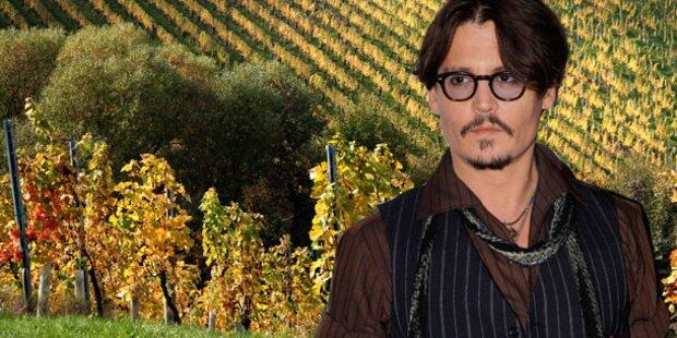 Johnny Depp ist als Winzer gescheitert