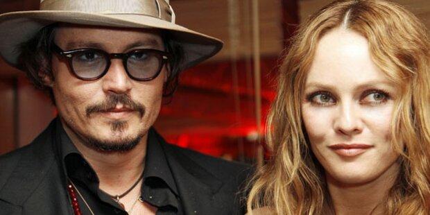 Johnny Depp kämpft um Vanessa Paradis