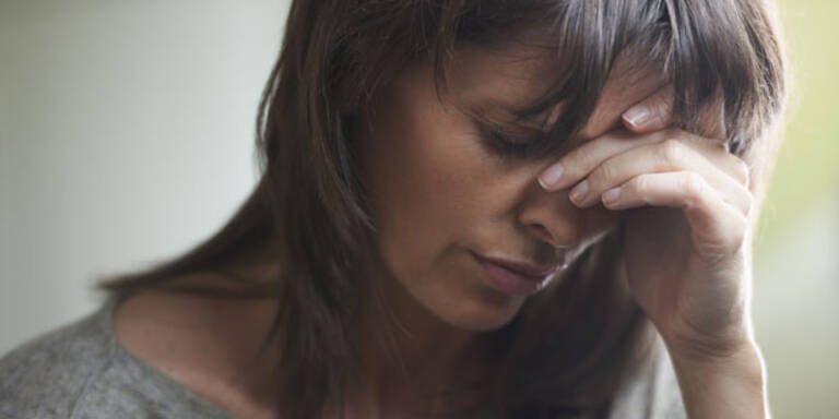 Menopause bereitet Frauen Probleme