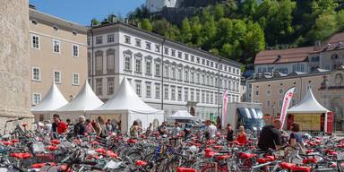 Radfrühling in Salzburg